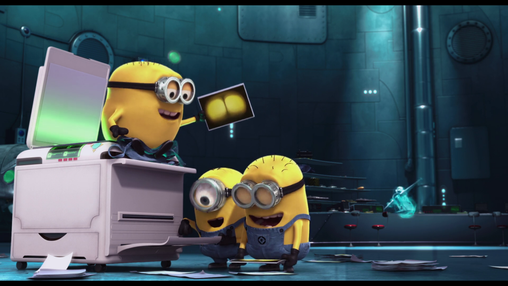 One Eyed Minion Are Always Of Average Height Or Short But Never Tall