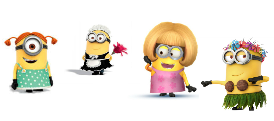 minion female costume