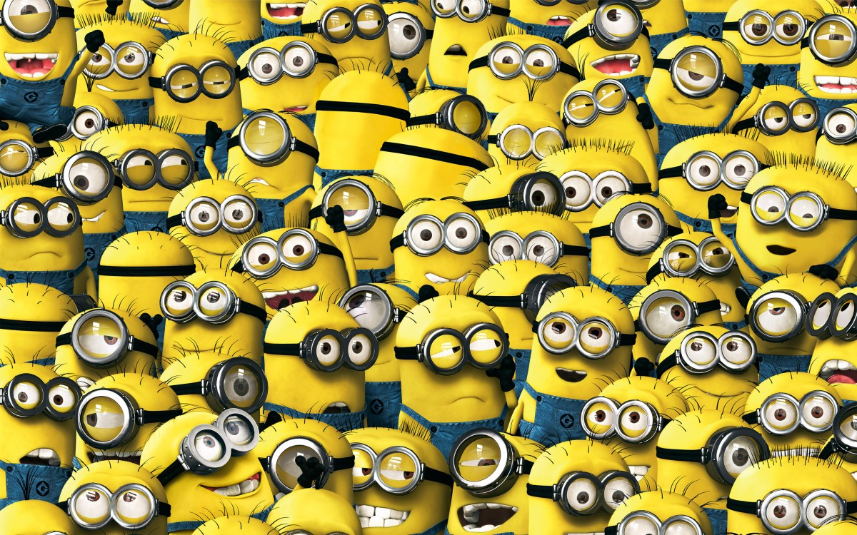 An Introduction to Minions; Minions' Names and Descriptions