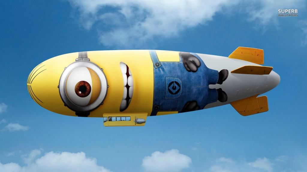 minion blimp