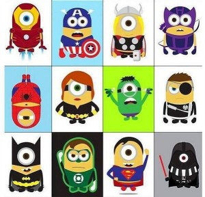 minion superheroes minionsallday