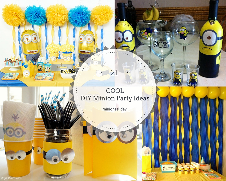 21 Cool DIY Minion Party Ideas