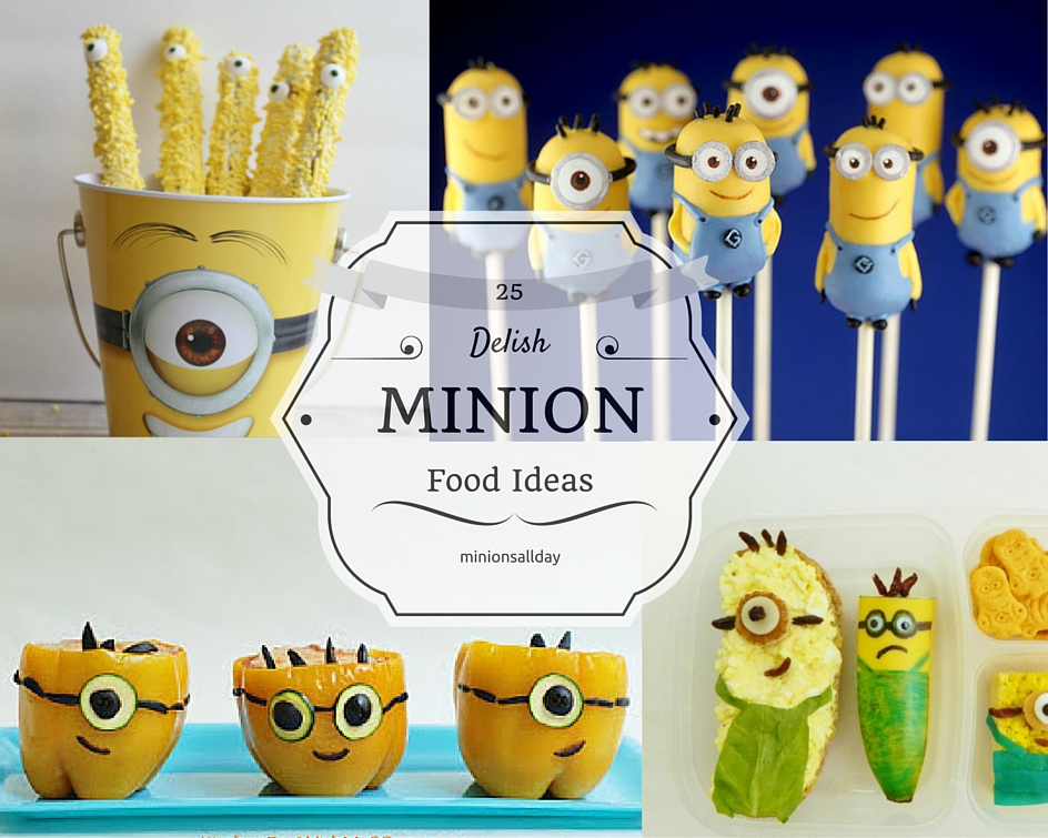 25 Delish Minion Food Ideas: Minion Frenzy in Kitchen