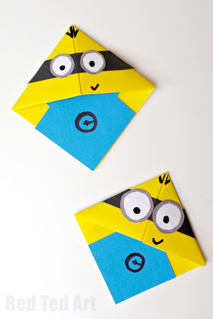 DIY minion craft ideas bookmarks