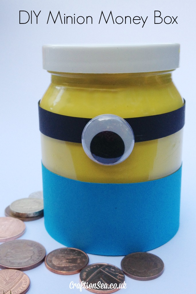 DIY minion craft ideas Money Box
