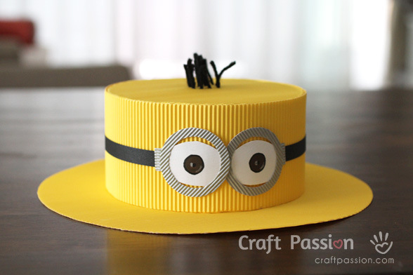 DIY minion craft ideas minion hat