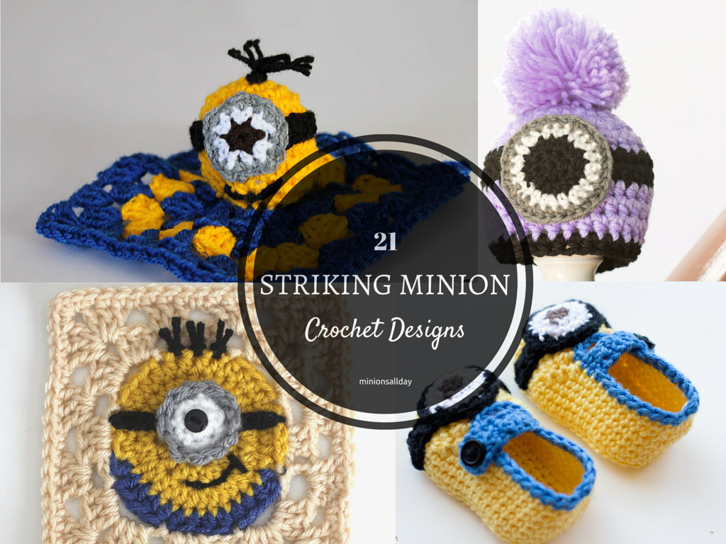 21 Striking Minion Crochet Designs