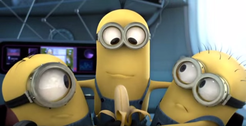 Minions Saying Banana