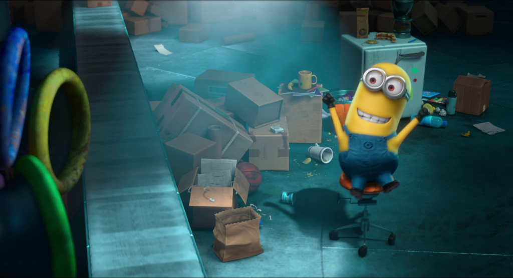 panic in the mailroom minion mini movie