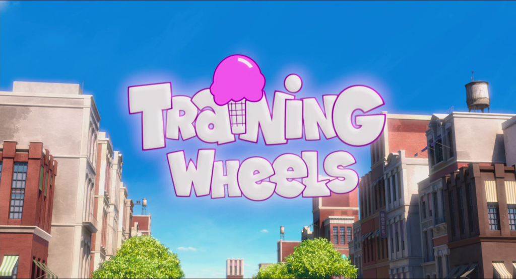 Training wheels minion mini movie