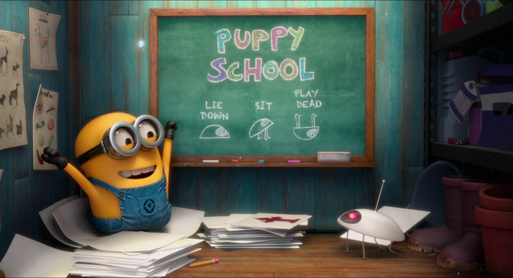 puppy minion mini movie