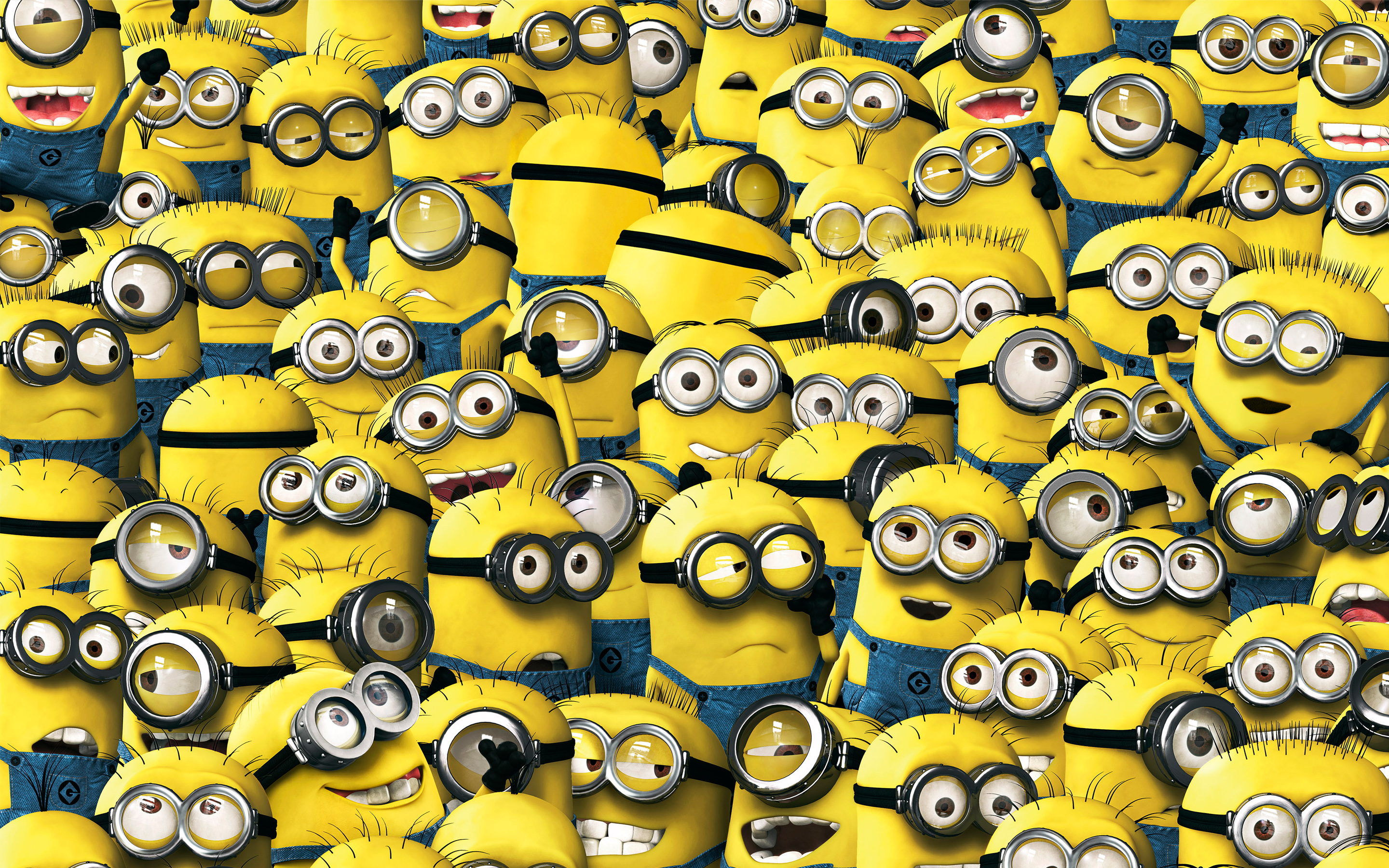 Different kinds of Minions