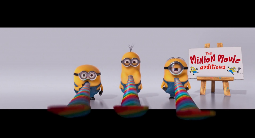 minions audition