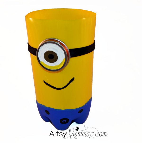 DIY minion craft ideas soda bottle
