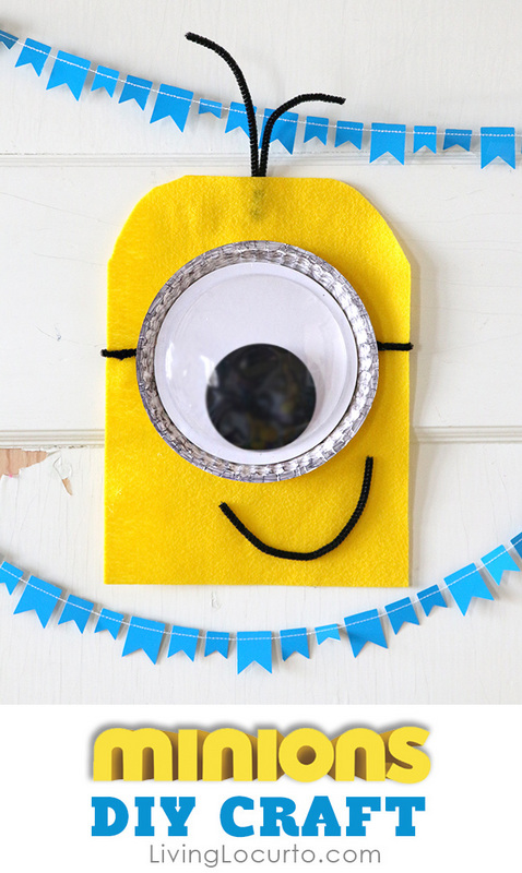 DIY minion craft ideas Wall art