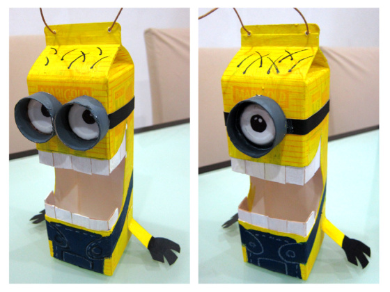 DIY minion craft ideas lanterns