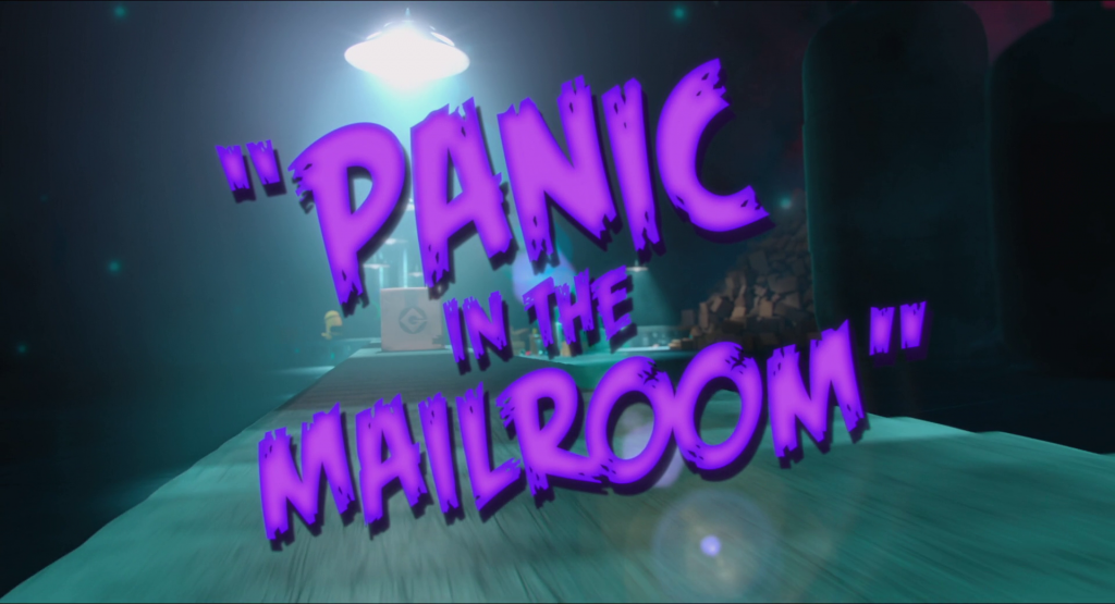 Panic in the Mailroom minion mini movies